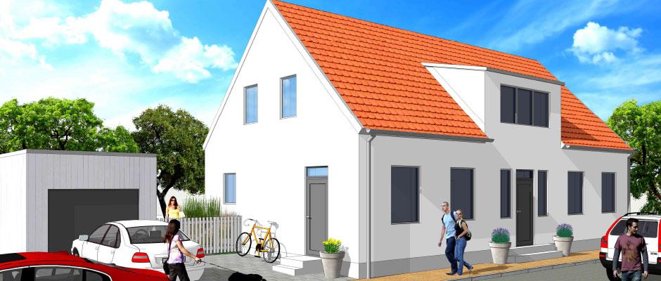 Projekt Villa DiArt Skanör